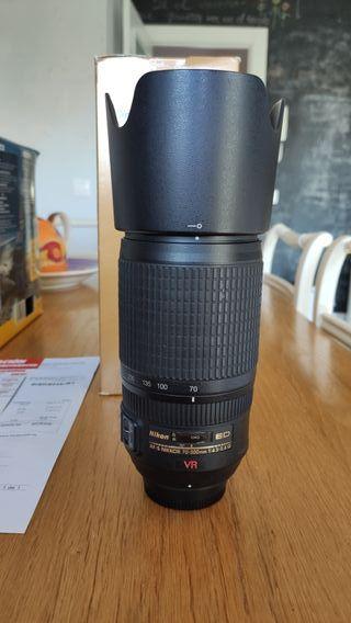 Objetivo Nikon AF-S VR Zoom 70-300