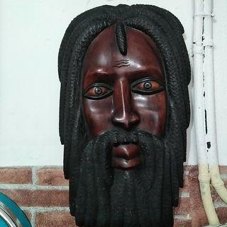 Talla madera Bob Marley Jamaicana