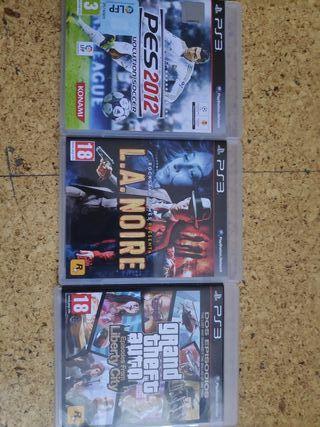 Juegos PS3: Pro 2012, L.A. Noire, GTA, Uncharted3