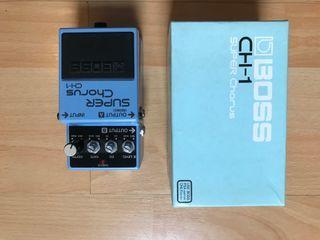 Boss CH 1 Super Chorus Pedal