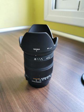 Objetivo 18-200 para Canon