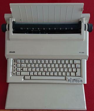Maquina de escribir Olivetti PT505
