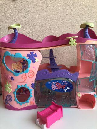 la casa de los littlest petshop
