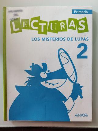 Los misterios de Lupas 2. Segundo de Primaria.