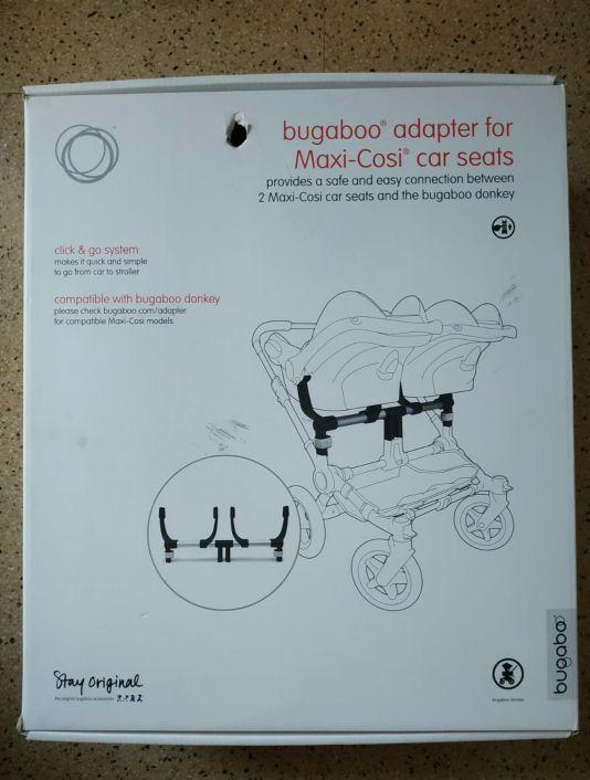 Bugaboo Donkey. Adaptador para silla de coche.