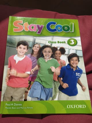 Stay Cool class book 3