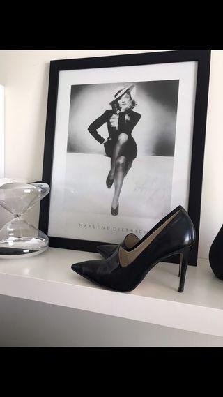 Tacones Zara negros