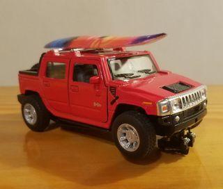 Hummer H2 Pick Up tabla surf Scalextric slot