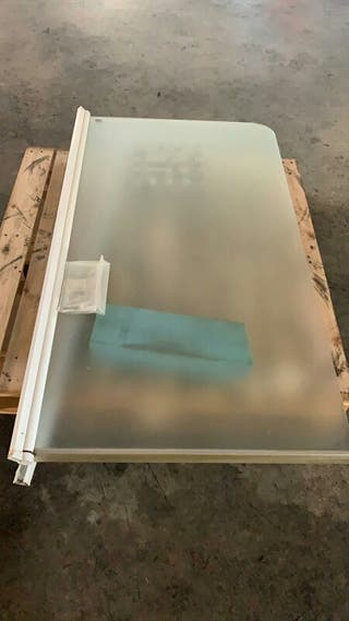 Mampara bañera de cristal
