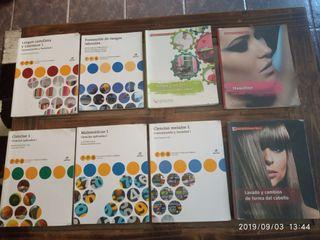 Libros de primero peluquería y estética