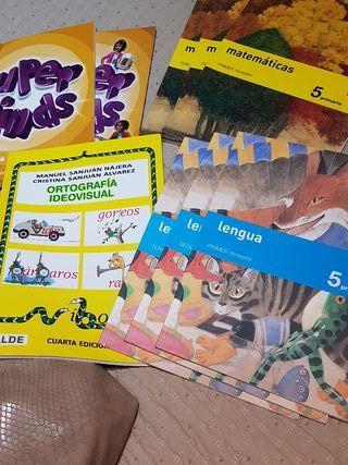 Libros de texto de 5 primaria