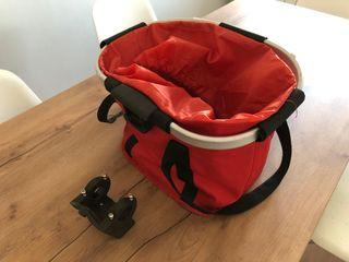 Bolso-cesta para bicicleta