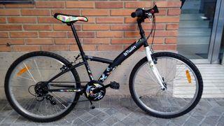 Bicicleta unisex 24 pulgadas