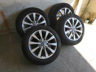 """Llantas originales Audi 17"""" y gomas de invierno"""