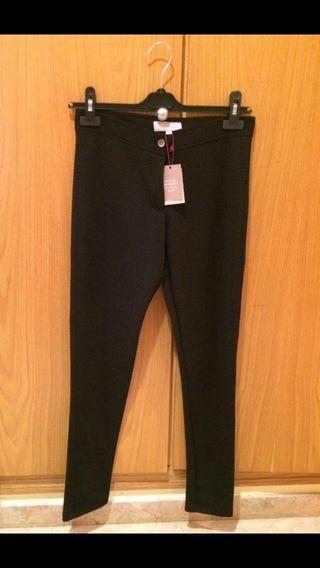 Pantalones elásticos Negros