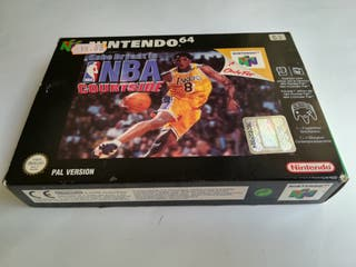 NBA COURTSIDE N64.
