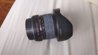 Objetivo Ojo de Pez Canon EOS