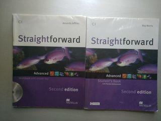 Libros texto de inglés Straightforward C1