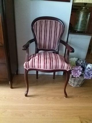 sillón o silla con brazos