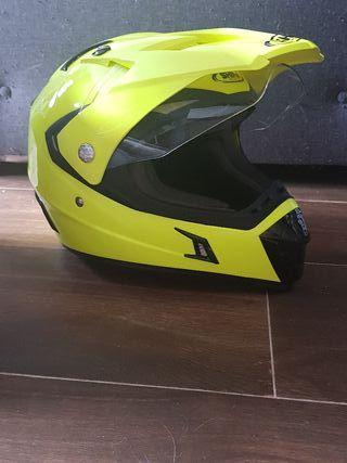 casco moto shiro MX 311 talla xxl