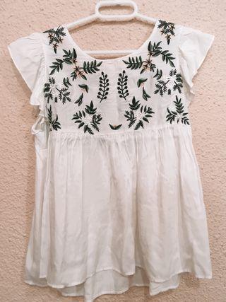 Blusa plumeti floral
