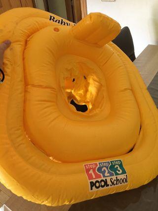 Flotador de seguridad de bebe