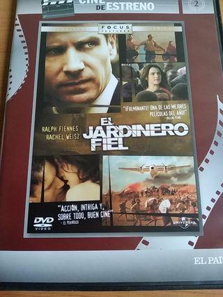 EL JARDINERO FIEL DVD