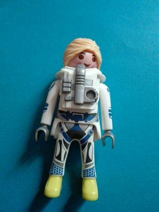 Playmobil mujer espacio astronauta extraterrestre