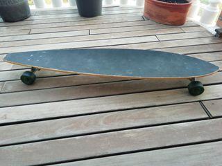 Longboard blur