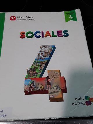libro de sociales cuarto de primaria