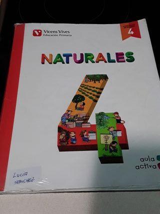libro de cuarto de primaria naturales