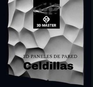 3D paneles de pared decorativos