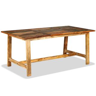 vidaXL Mesa de salón comedor de madera 244802