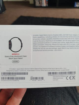 apple watch series 4 44mm space grey wifi +cell