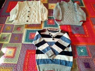 Lote de 2 jerseys + chaqueta niño TALLA 3-4