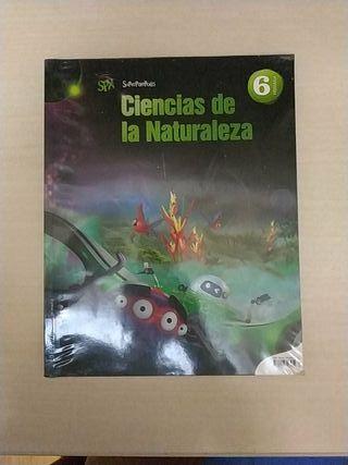 Libro Ciencias de la Naturaleza 6° primaria