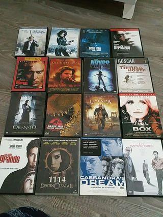 Peliculas DVD a 1€ (o todo el lote por 30€)