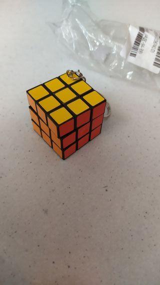 3 llaveros cubo rubik nuevos