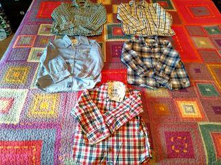 Lote de 6 camisas niño TALLA 3-4 COMO NUEVAS