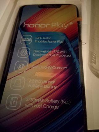 Huawei Honor Play 96Gb (64+32) + pulsera