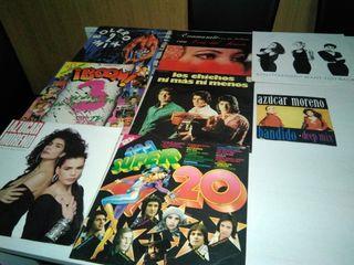 discos varios de vinilo