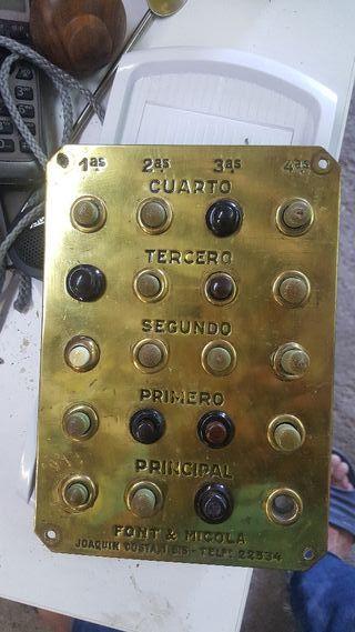 placa de timbre