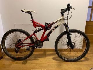 Bicicleta ktm xc1.0