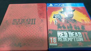 Red dead 2 + Caja metalica
