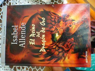 Libro. El reino del dragón rojo, Allende.
