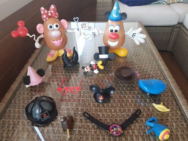 Mr. Potato Head. Lote Disney World Orlando/Paris