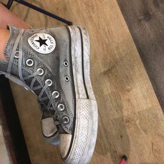 Converse Limited edition gris plataforma