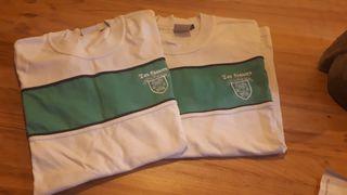 camiseta chandal uniforme los sauces