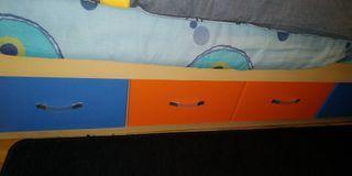 cama doble niño