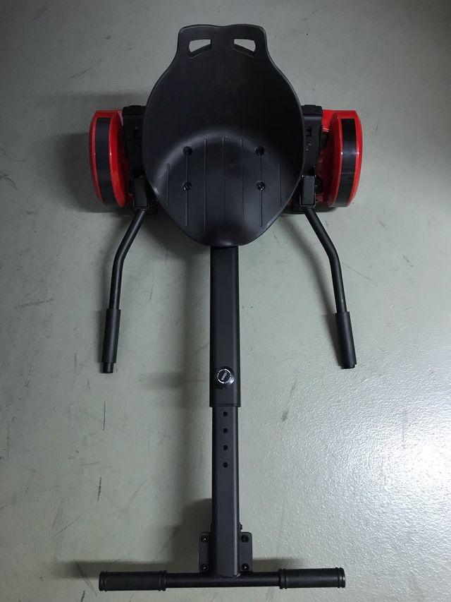 Hoverboard eléctrico - asiento adaptable
